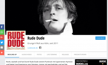 Rude Dude Backstage Pro