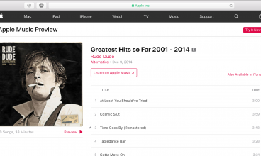Rude Dude Greatest Hits Album itunes