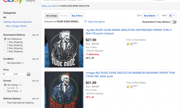 Rude Dude Shirt Merch