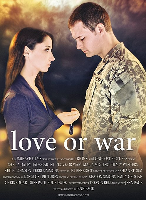 Das Cover der Love Or War DVD